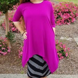 Lilliana top with pockets 3X